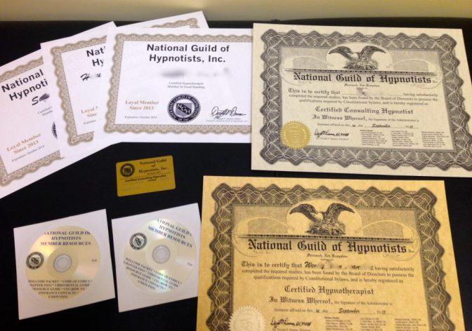 美國NGH認證專業催眠諮商師訓練班 – 2016年加拿大課程